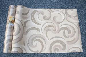 Modern Decorative Wallpaper Deep Embossed PVC Wallpaper 1.06X15m Wallpaper