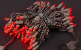 Wide Angle 5mm LED Battery String Lights Christmas Light