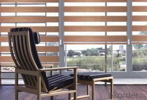 Natural Printed Window Bamboo Curtain Wood Blinds
