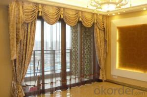 custom roman blinds/roman blinds custom/embroidered linen curtain fabric