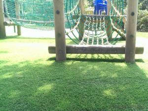 Anti-UV Landscape Decoration Synthetic Artificial Grass for  Kindergarten
