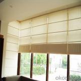 Elegant horizontal retractable motorized shangri-la blinds