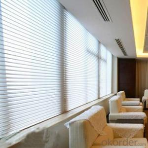 luxury lace shangri-la zebra roller blind fabric window blind for window