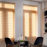 home pvc transparent curtain blinds manual Shangri-La Blinds