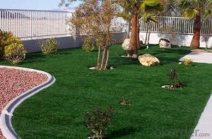 Lawn Landscape Artificial Turf  & Sports grass /Grass 4 color SGS Approved