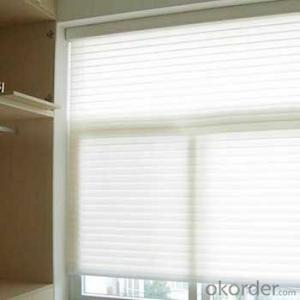 folding shangri-la sheer window shades rolling blind