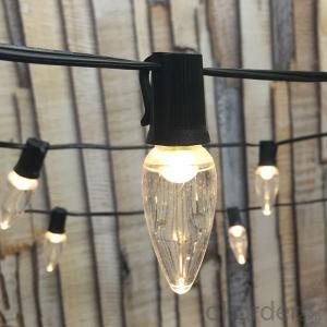 C9 LED Lights String for Celebration Holidays