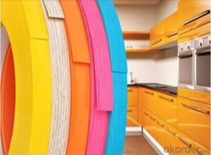 PVC Edge Banding Tape Waterproof Offer Printing
