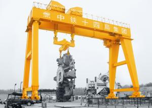 Gantry Crane with Shield,Anti-Sway,Tunnel