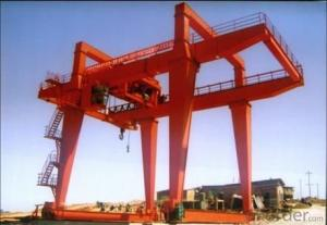 U-Type 10T~50T/10T Double Beam Gantry Crane with Hook