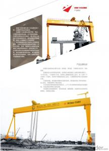 Shipbuilding Gantry Crane,Anti-sway, Assembling Body