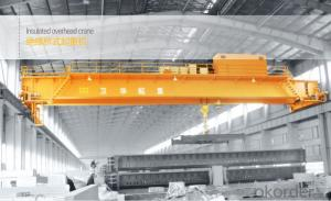 QY Model 5-50/10T Insulation Overhead Crane with Hook