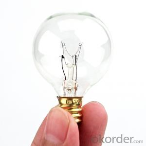 G40 Bulbs UL Listed with 25 G40 Bulbs Perfect for Patio, Cafe, Garden, Festoon Party Decoration