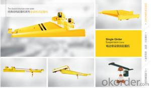 LX Model Electric Single Beam Suspension Crane