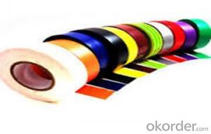 PVC Electrical Tape jumbo roll Single Sided tape