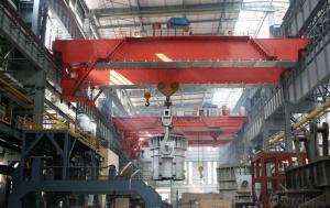 YZ Foundry Crane Cap.5~320T with Hook and QDY Model Metallurgic Crane