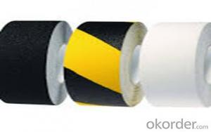 PVC silicone caution anti slip grip tape