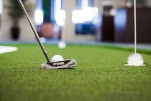 Golf Driving Range in Courtyard for Synthetic Turf