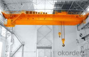 QB Model 5~75/20T / 5~100/20T Blast-Proof Overhead Crane with Hook