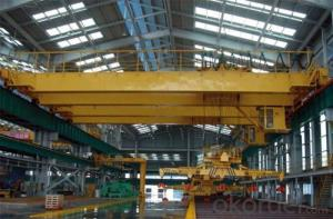 High level Slewing Overhead Crane with Carrier-BeamLow Level Slewing Overhead Crane withCarrier-Beam