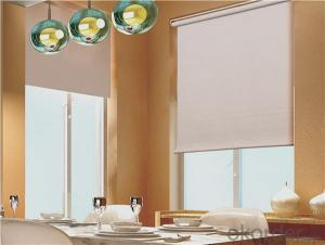 Sunscreen Fabric Roller Blind Rolling Shade for Office Use