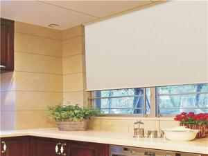 Manual Sunscreen Fabric Roller Blind For Bedroom Rolling Shutter Home