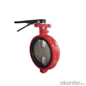 Rubber Seal Butterfly Valve Rubber Lined Butterfly Valve