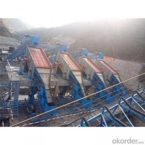 Aggregate production line for railways and engineering