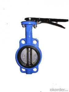 Resilient Seat Butterfly Valve Wafer Type