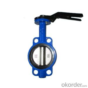 Lever Butterfly Valves Wafer And Lug Style