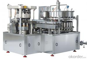 High Speed Beer Filling and Sealing Machine