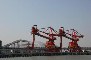 Chain Bucket Ship Unloader,bulk material transportation equipment