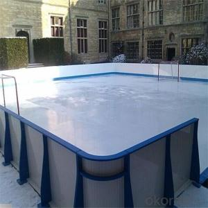 Factory Sales UHMWPE Synthetic Ice Rink Board