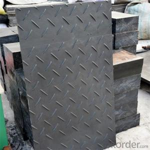 8mm Thick UHMWPE Temporary Road Ground Mat