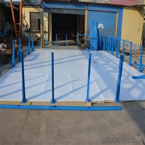 8mm Thick Factory Sales UHMWPE Synthetic Ice Rink Board
