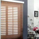 manual fabric sheer  waterproof wenetian blind