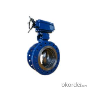 Carbon Steel Butterfly Valve Double Flanged