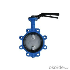 Lug Butterfly Valve Soft Seated Cast Iron PN16