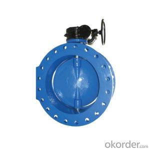 Large Diameter Butterfly Valves Double Eccentric DN1000