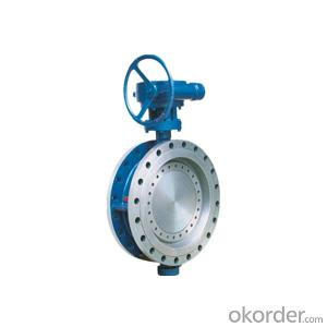 High Performance Butterfly Valves Double Offset