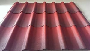 Corrugated roofing tile Bitumen roofing system / the high performance roofing system