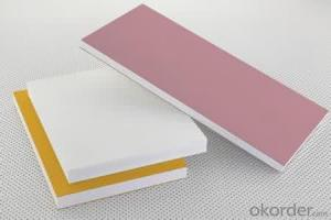 PVC Foam Plate/PVC Crust Foam Sheet  Waterproof  for Construction