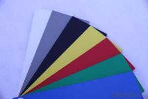High density Plastic Sheets pvc forex board/PVC foam board with different density/forex board
