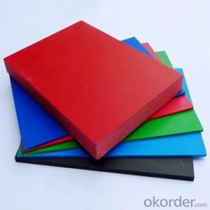 PVC Plastic/Free Foam Sheet for Decoration and Construction with Waterproof & Fireproof