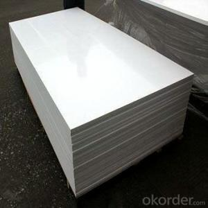 PVC Foam Board with High Density for Many Application /Professional Manufacturer
