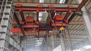 Electric Hanging Cross Track Crane, hoisting equipment