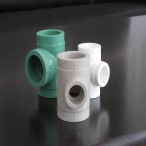 PPR Pipe fittings Tee use in Hot&Cold Water