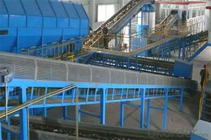 Municipal waste automatic sorting system