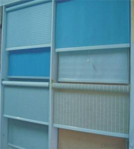 electric roller blinds with zipper and fabric
