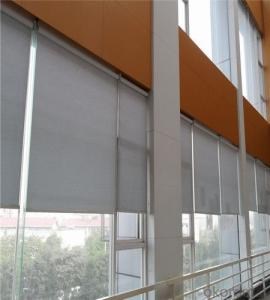 Automatic Motorized Remote Office Window Woven Roller Blinds